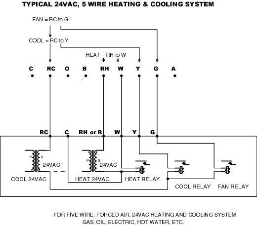Ritetemp Thermostat 8030c Wiring Diagram