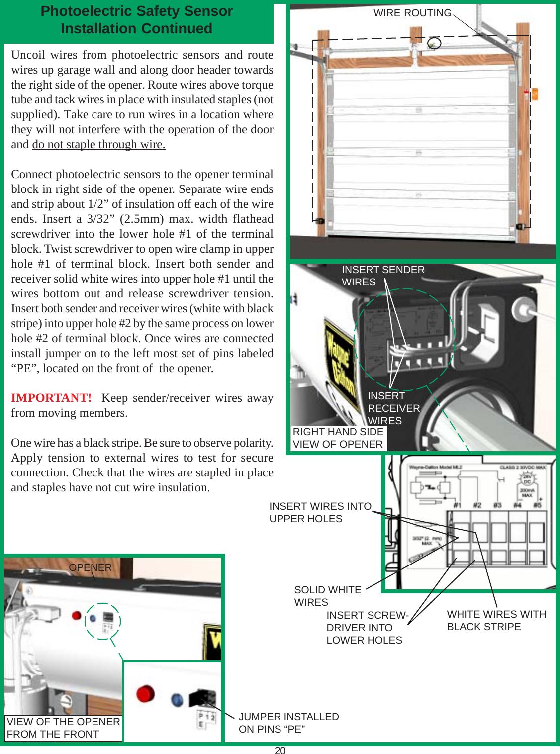 Wayne Dalton Garage Door Opener Manual 3213