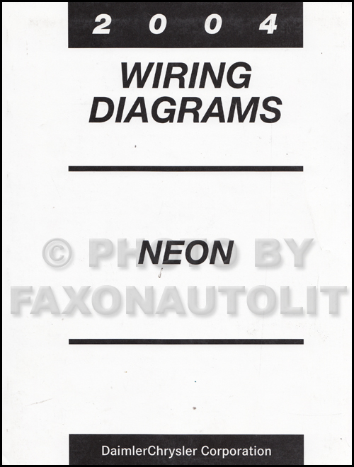 Strange 2004 Dodge Neon Wiring Diagram Manual Original Wiring Cloud Eachirenstrafr09Org