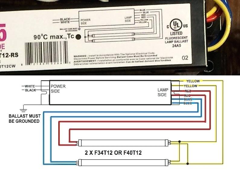 T5 Lamp Wiring Diagram