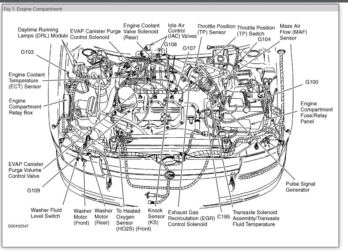 YE 40] 40 Mercury Villager Fuse Box Diagram Schematic Wiring