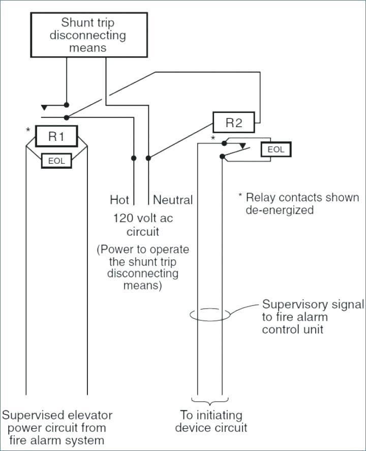 ce3136 circuit breaker shunt relay wiring diagram