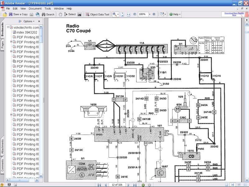 volvo v40 wiring diagram mk 0097  volvo hu 850 wiring diagram  mk 0097  volvo hu 850 wiring diagram