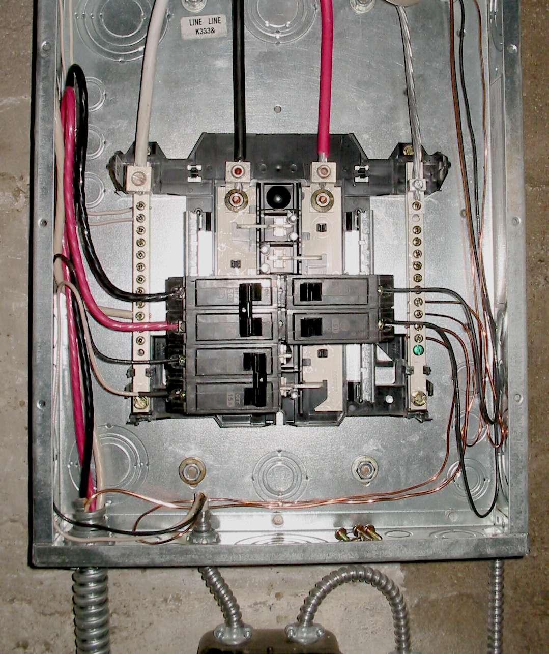 Rk 9205 Wiring A Breaker Panel Diagram Free Diagram