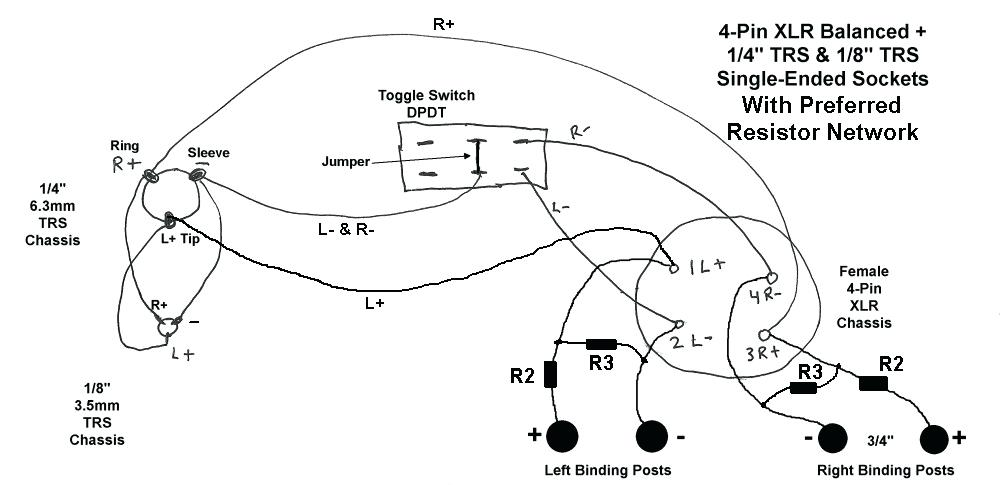 3 5mm jack wiring diagram combo trs female diagram e4 wiring diagram  trs female diagram e4 wiring diagram