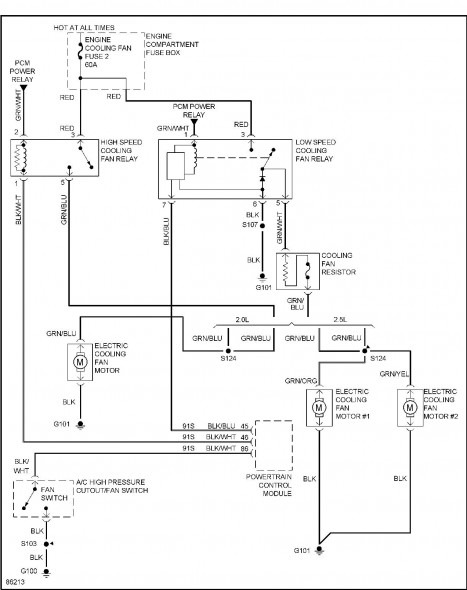98 Ford Contour Se Wiring Diagram
