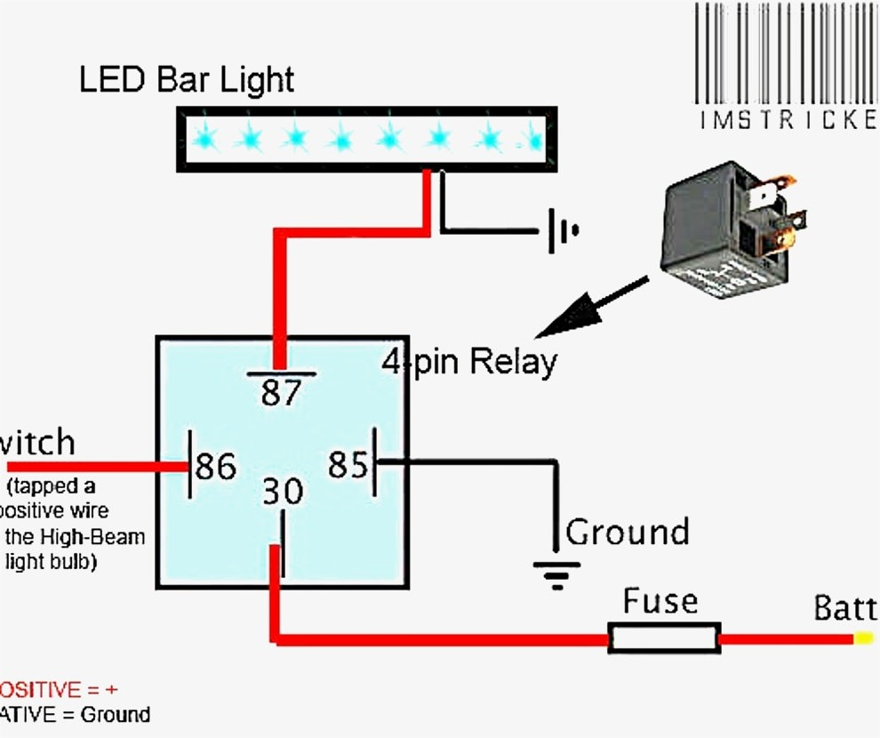 basic relay wiring diagram aw 5495  light relay wiring diagram further led light bar relay  relay wiring diagram further led light