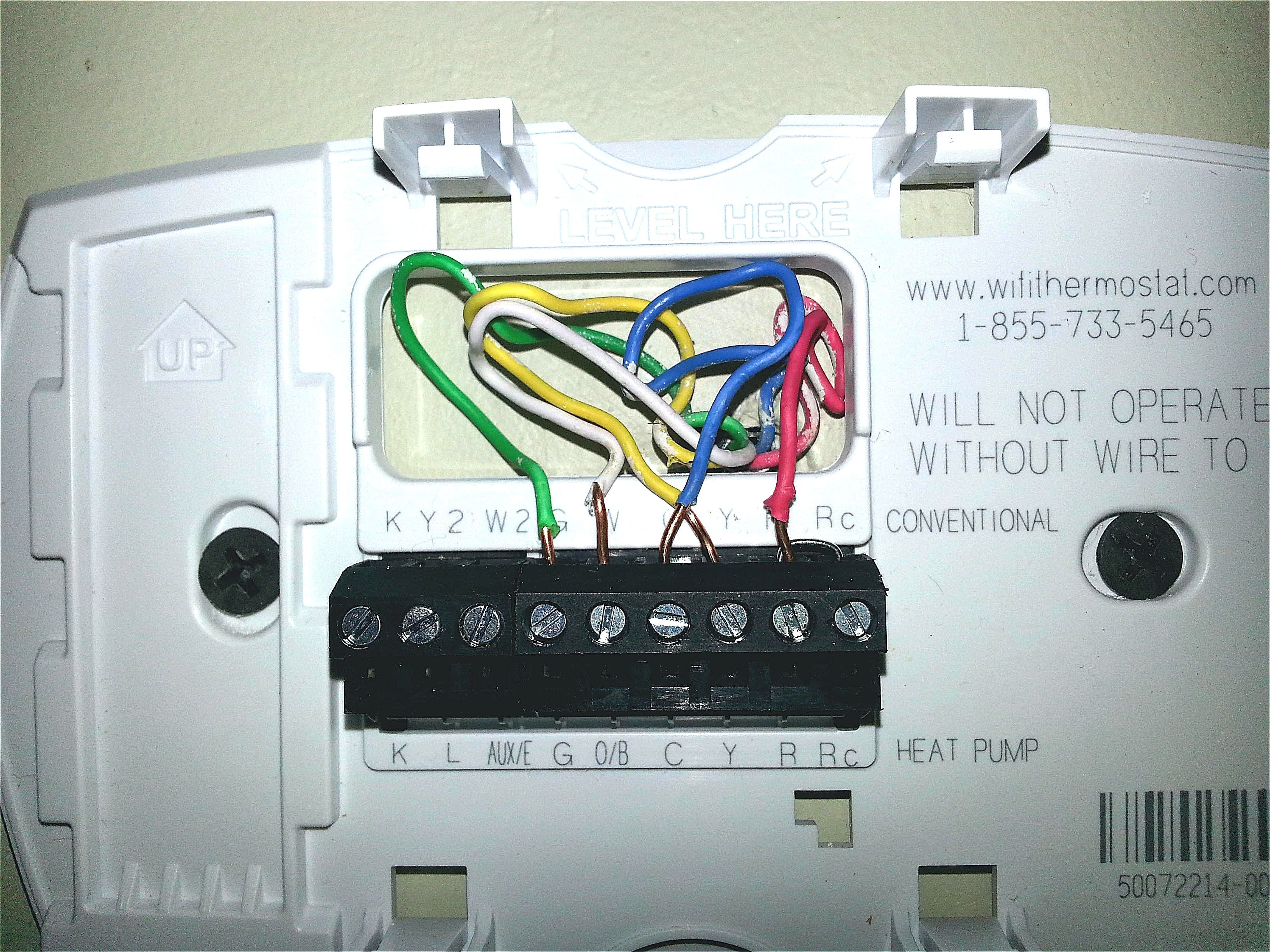 4 Wire Honeywell Thermostat Rth111b Wiring Diagram