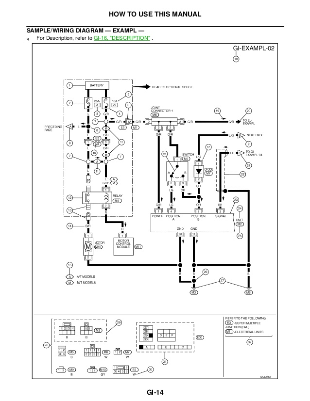 2000 Nissan Frontier Ignition Wiring Diagram