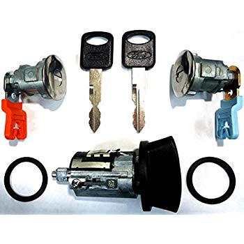 Prime Amazon Com Ford Ignition Switch Lock Cylinder Pair 2 Door Lock Wiring Cloud Histehirlexornumapkesianilluminateatxorg