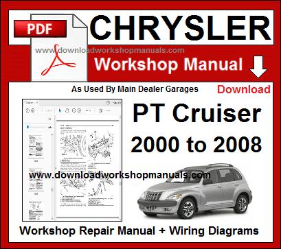 2001 chrysler pt cruiser wiring diagram vl 2940  chrysler pt cruiser 20012005 repair manuals download  chrysler pt cruiser 20012005 repair