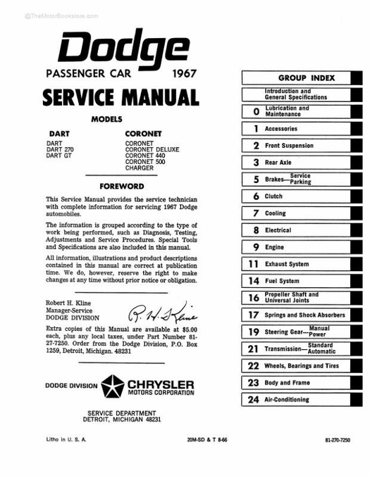 Nf 8318 1965 Dodge Coronet 81 2 X 11 Color Wiring Diagram Download Diagram
