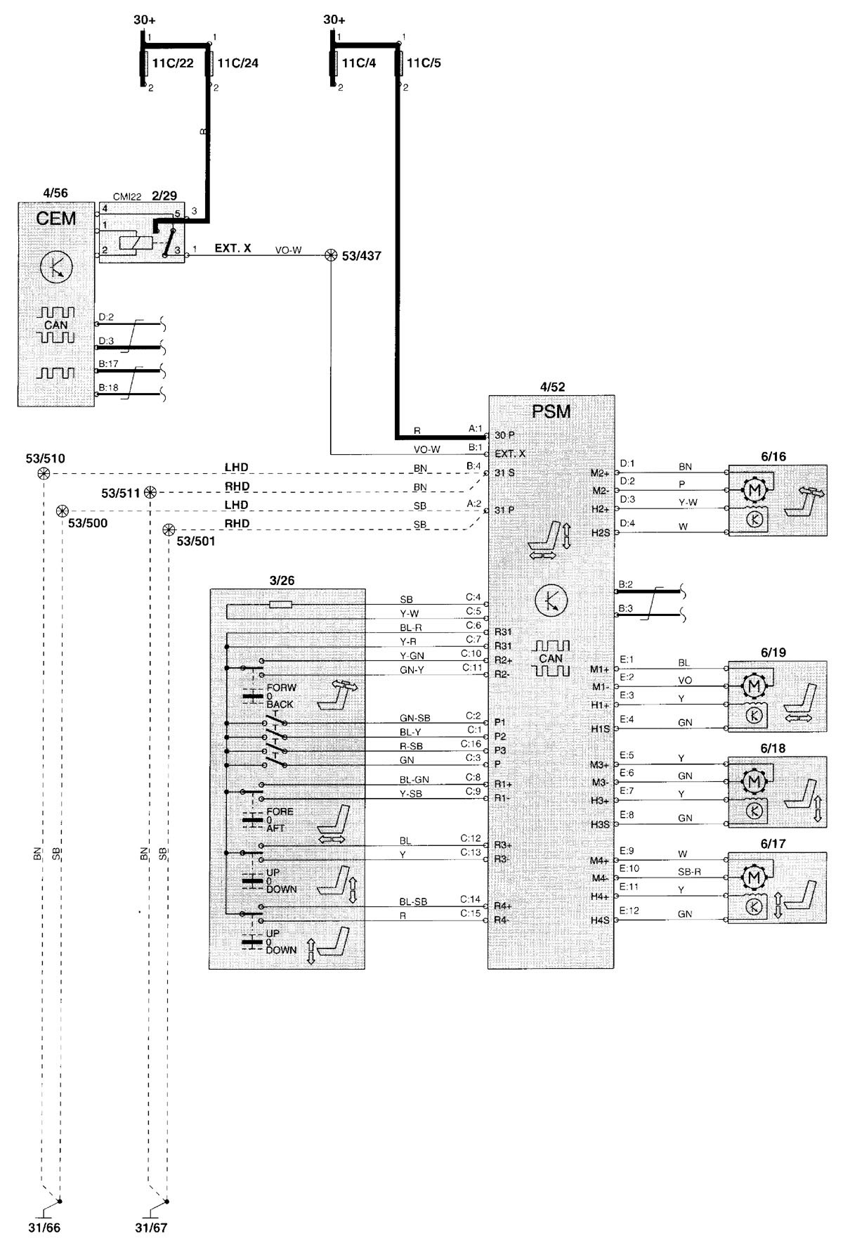 [NRIO_4796]   Volvo V70 Electrical Diagram - 02 Explorer Fuse Diagram for Wiring Diagram  Schematics | Volvo V70 Schematics |  | Wiring Diagram Schematics