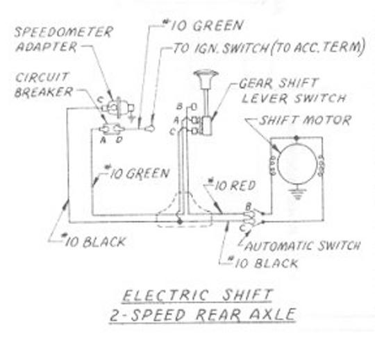 TN_5109] Electric Shift 2 Speed Rear Axle Wiring Diagram For 1957 1959  Studebaker Truck Free DiagramWww Mohammedshrine Librar Wiring 101