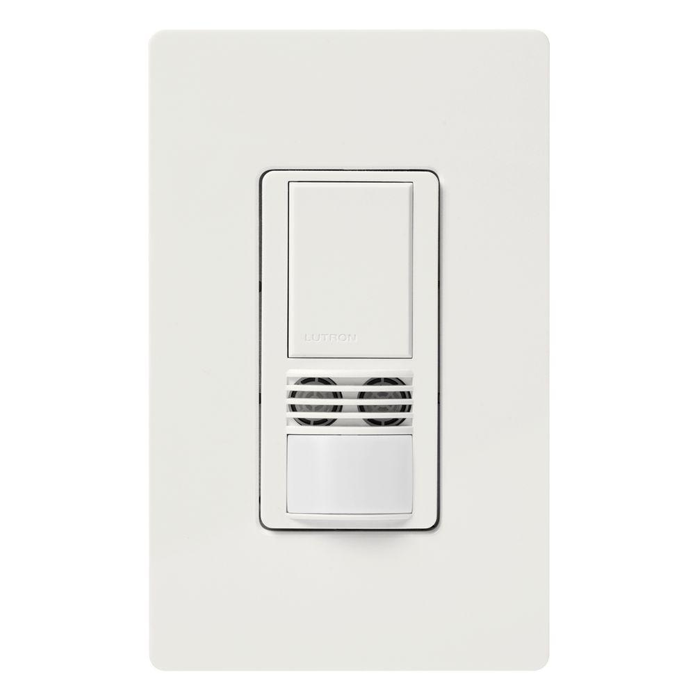 Stupendous Lutron Maestro Dual Tech Motion Sensor Switch 6 Amp Single Pole Wiring Cloud Onicaxeromohammedshrineorg