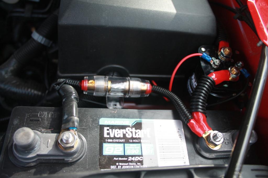 Peachy Dual Battery Setup On My Silverado For Camp Power Andy Arthur Org Wiring Cloud Cranvenetmohammedshrineorg