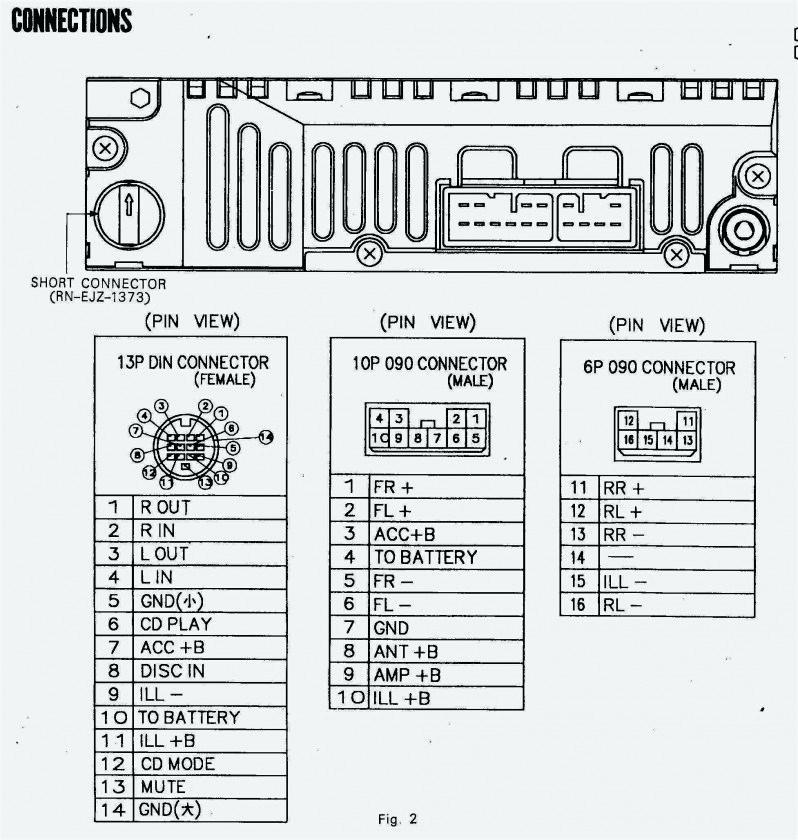 Wiring Diagram Sony Head Unit
