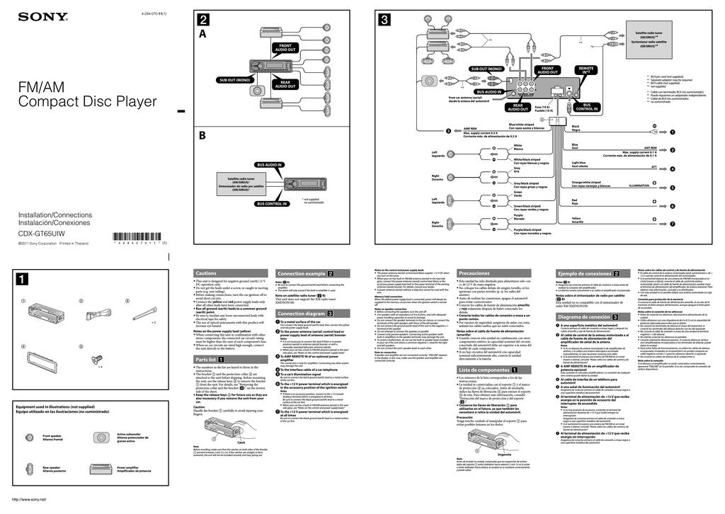 al3239 sony cdx gt10w wiring harness for wiring diagram
