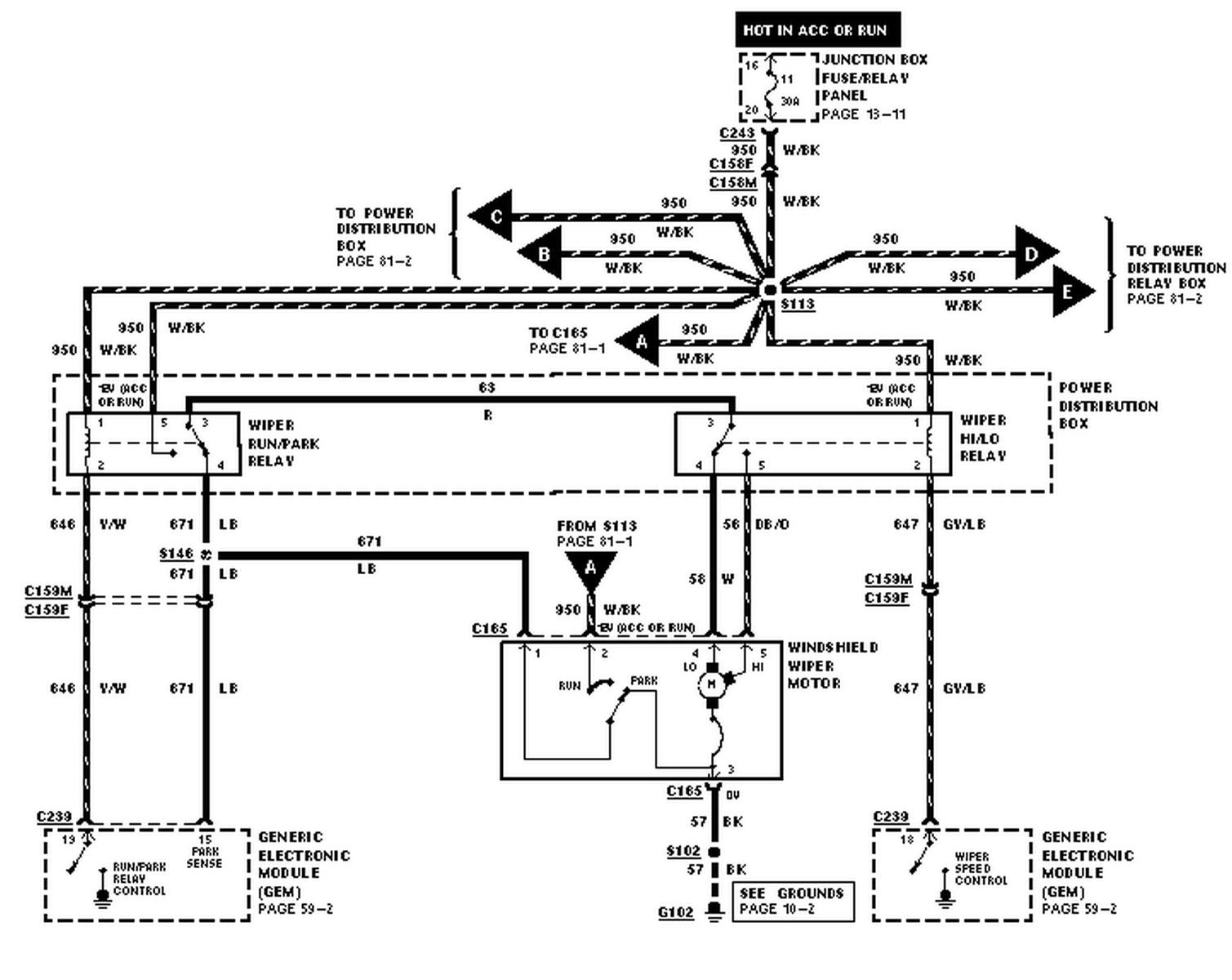 93 F150 Wiper Wiring Diagram Wiring Diagrams Data Company Company Ilsoleovunque It