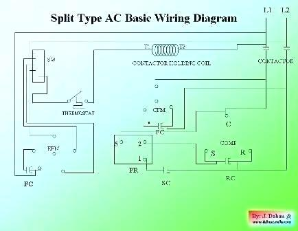 ac thermostat wire diagram vm 6012  split air conditioner wiring diagram air conditioner  split air conditioner wiring diagram
