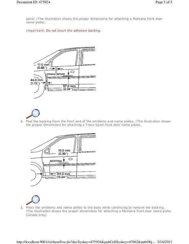 Wiring Diagram Pontiac Transport 97