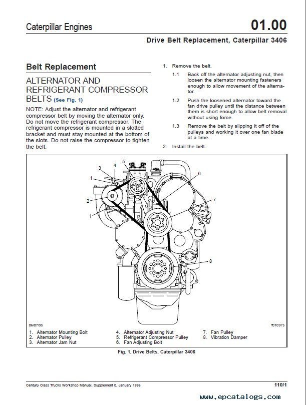 Vf 0678 Alternator Wiring Diagram Caterpillar Truck Wiring