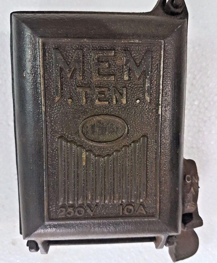HV_1712] Vintage Cast Iron Fuse Box Download Diagram