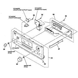 Marvelous Sony Model Str Dh520 Receivers Genuine Parts Wiring Cloud Licukshollocom