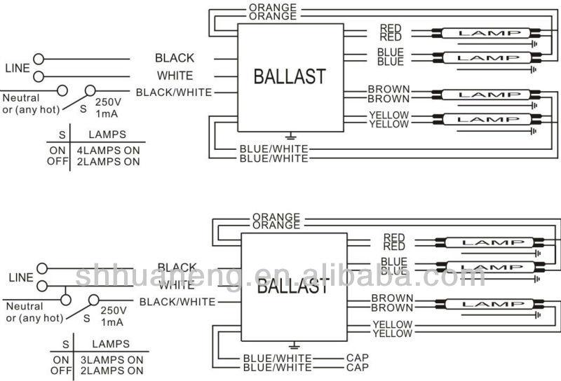 4 lamp electronic ballast wiring diagram hz 7815  ballast wiring diagram as well ge proline t12 ballast  ballast wiring diagram as well ge
