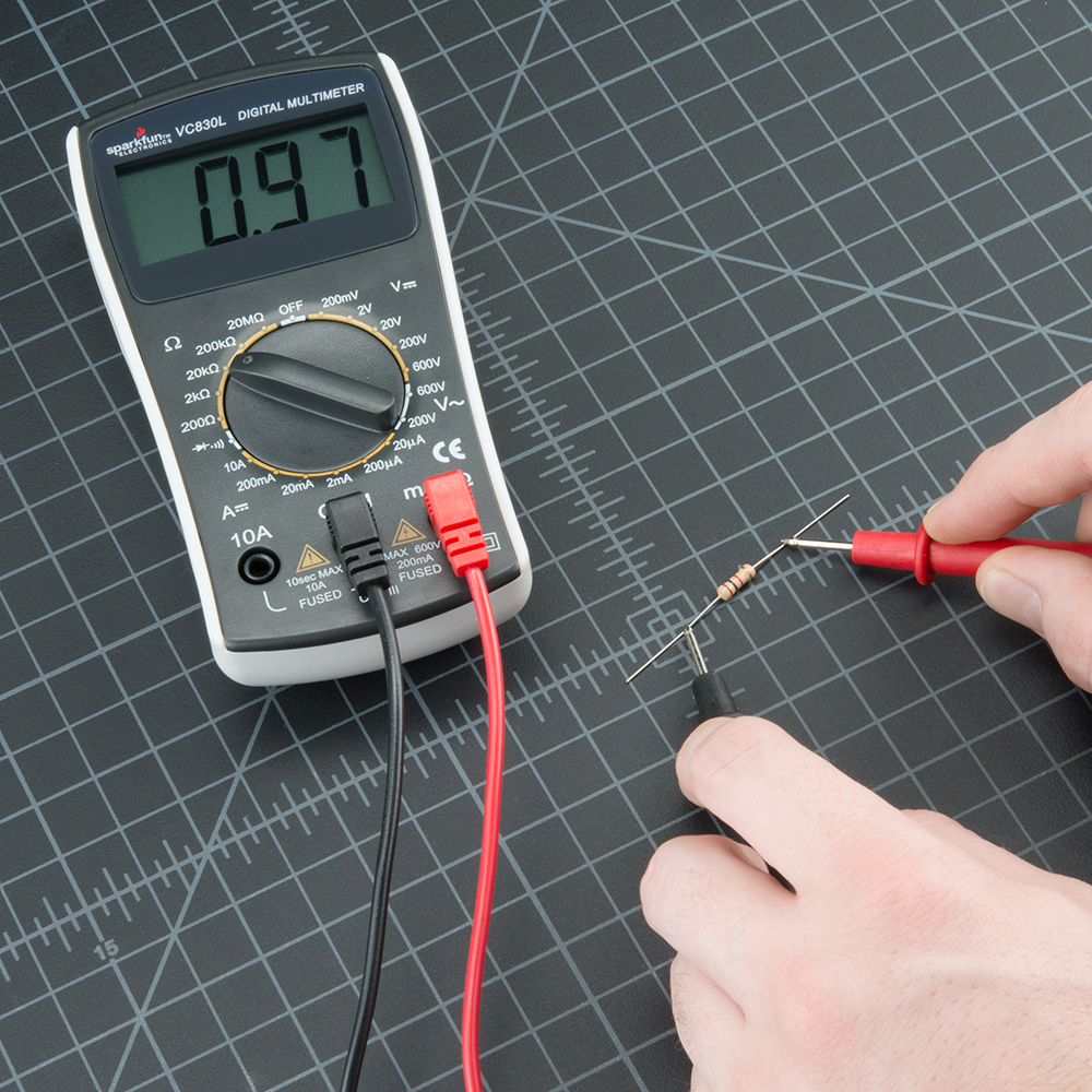 Excellent How To Use A Multimeter Learn Sparkfun Com Wiring Cloud Filiciilluminateatxorg