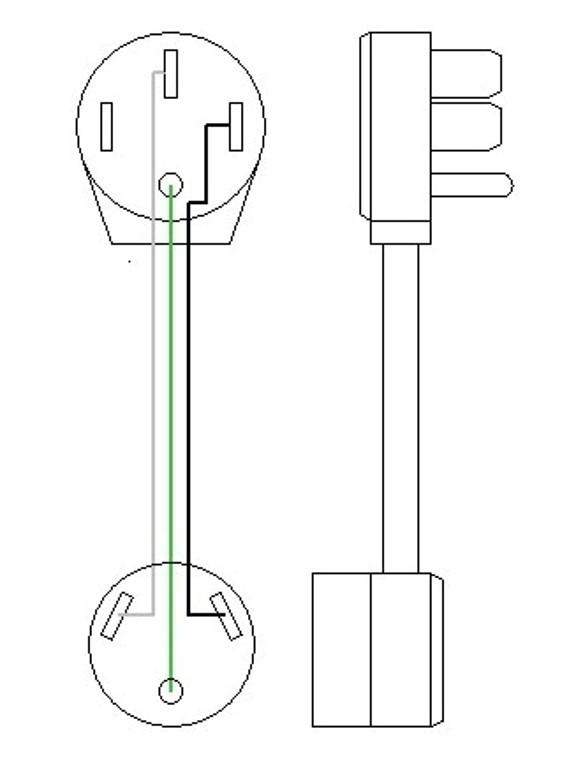 Astonishing 50 Amp Male Plug Wire Diagram Wiring Diagram Library Wiring Cloud Ittabisraaidewilluminateatxorg