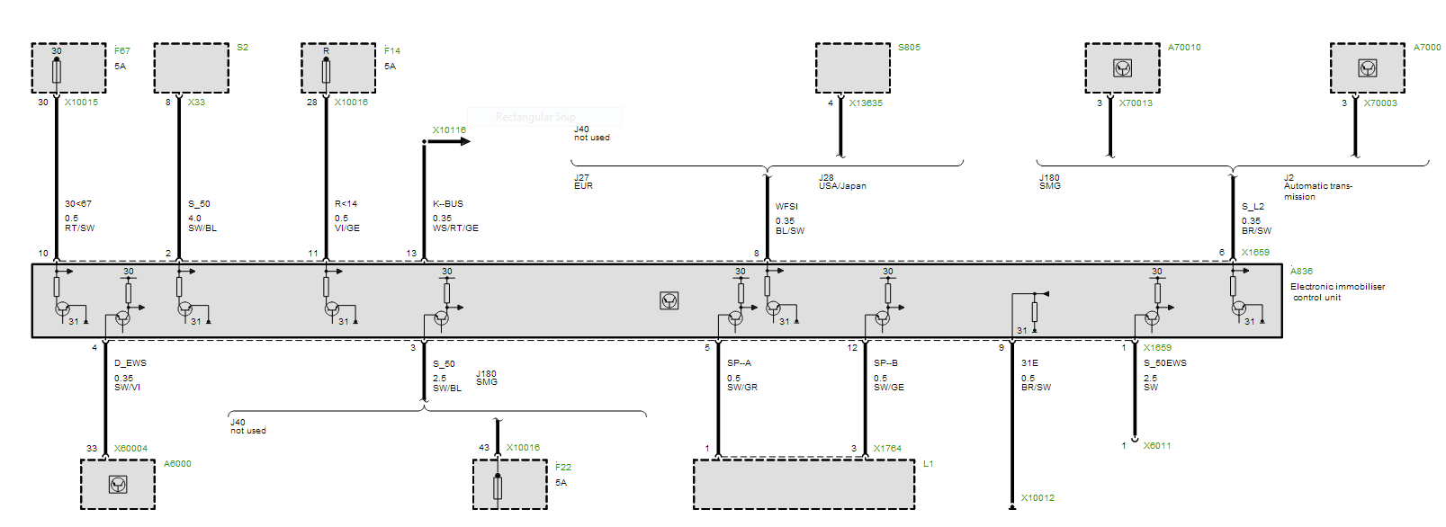 Peachy Bmw Ews Wiring Diagram 3 Wiring Diagram Wiring Cloud Domeilariaidewilluminateatxorg