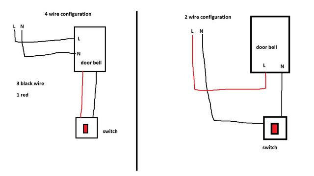 ay8000 wiring diagram single door bell free diagram
