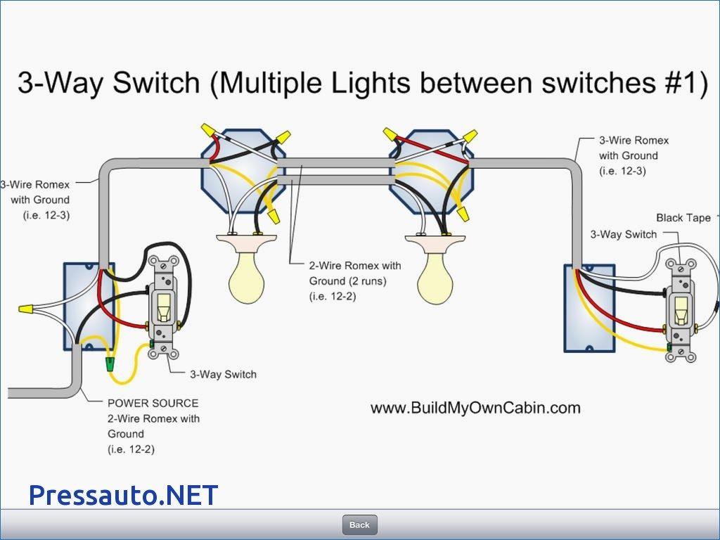 3 Way Light Wiring Diagram