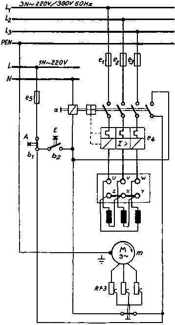 3 phase magnetic switch wiring diagram sh 0615  phase magnetic starter wiring diagram circuits formulas  phase magnetic starter wiring diagram