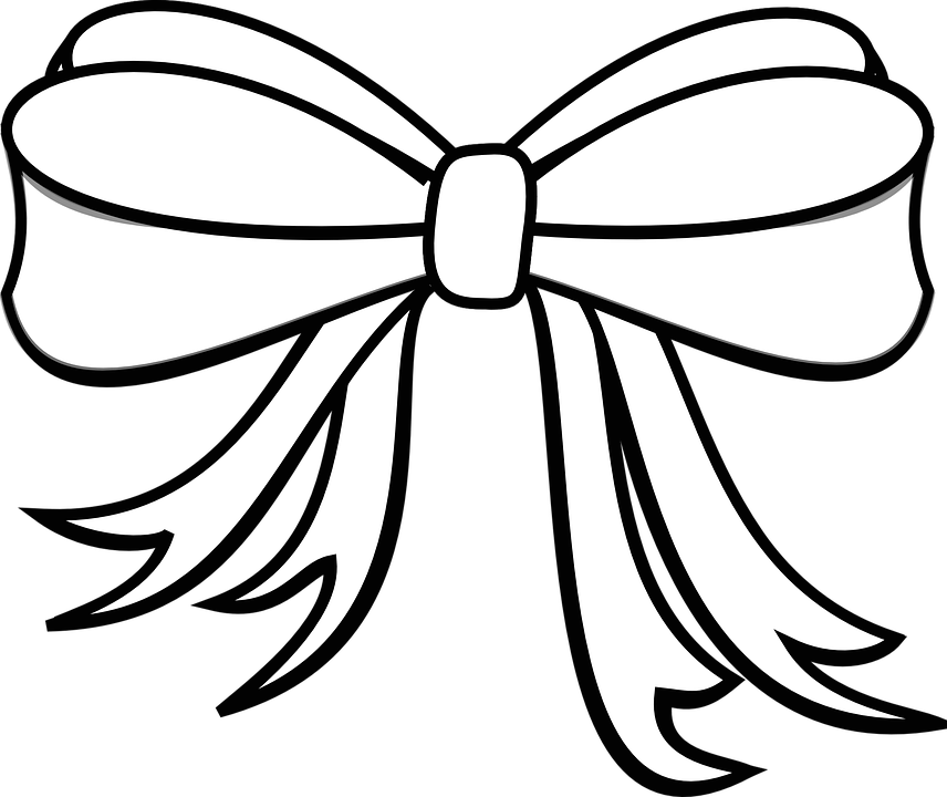 Prime White Bow Clip Art At Clker Com Auto Electrical Wiring Diagram Wiring Cloud Onicaxeromohammedshrineorg