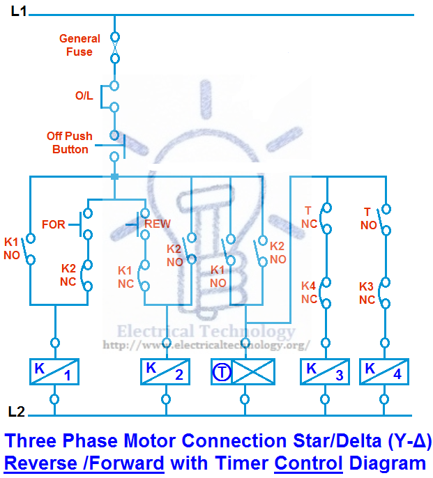 Super Three Phase Motor Connection Star Delta Y D Reverse Forward With Wiring Cloud Rineaidewilluminateatxorg