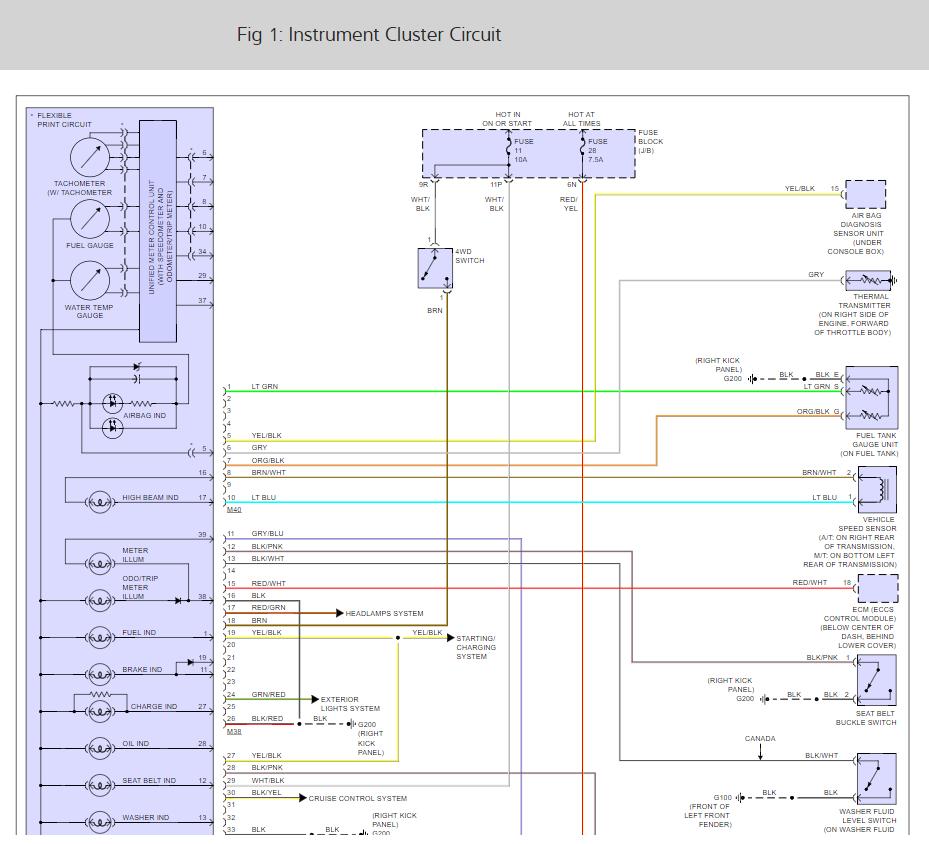 1998 Nissan Pickup Wiring Diagram - Wiring Diagram For Pt S for Wiring  Diagram SchematicsWiring Diagram Schematics