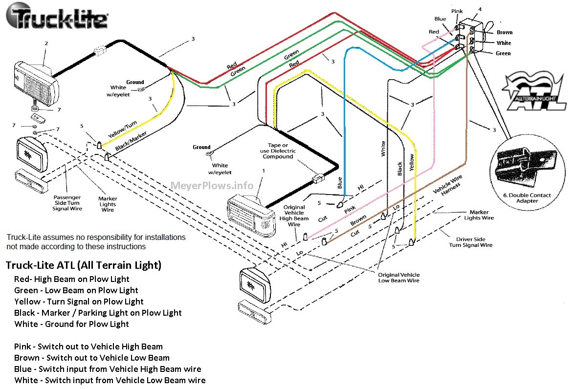 MA_6787] Plows Wiring Diagram Headlights In Addition Fisher Minute Mount  Plow