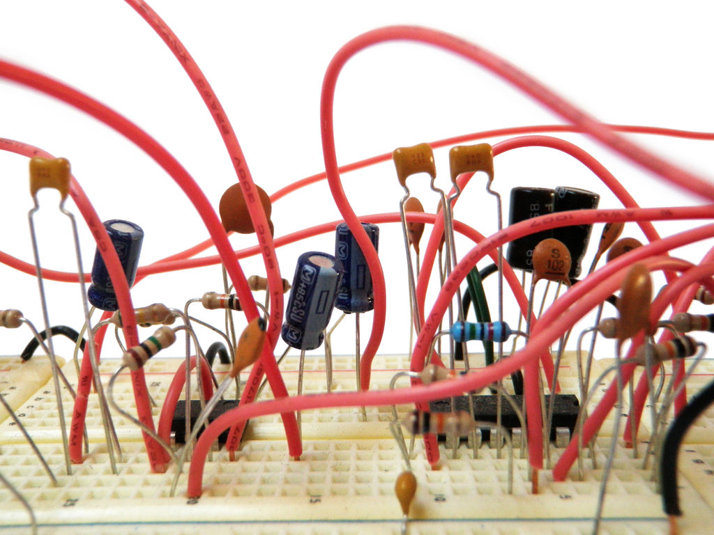 Strange Basic Electronics 20 Steps With Pictures Wiring Cloud Eachirenstrafr09Org