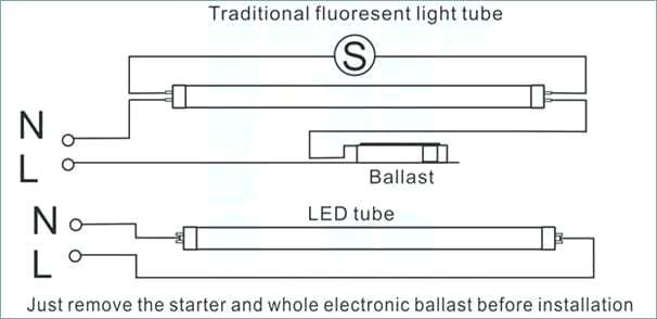 Admirable Convert T12 To T8 Different Wiring Diagram Converting Bulbs Wiring Cloud Hemtshollocom