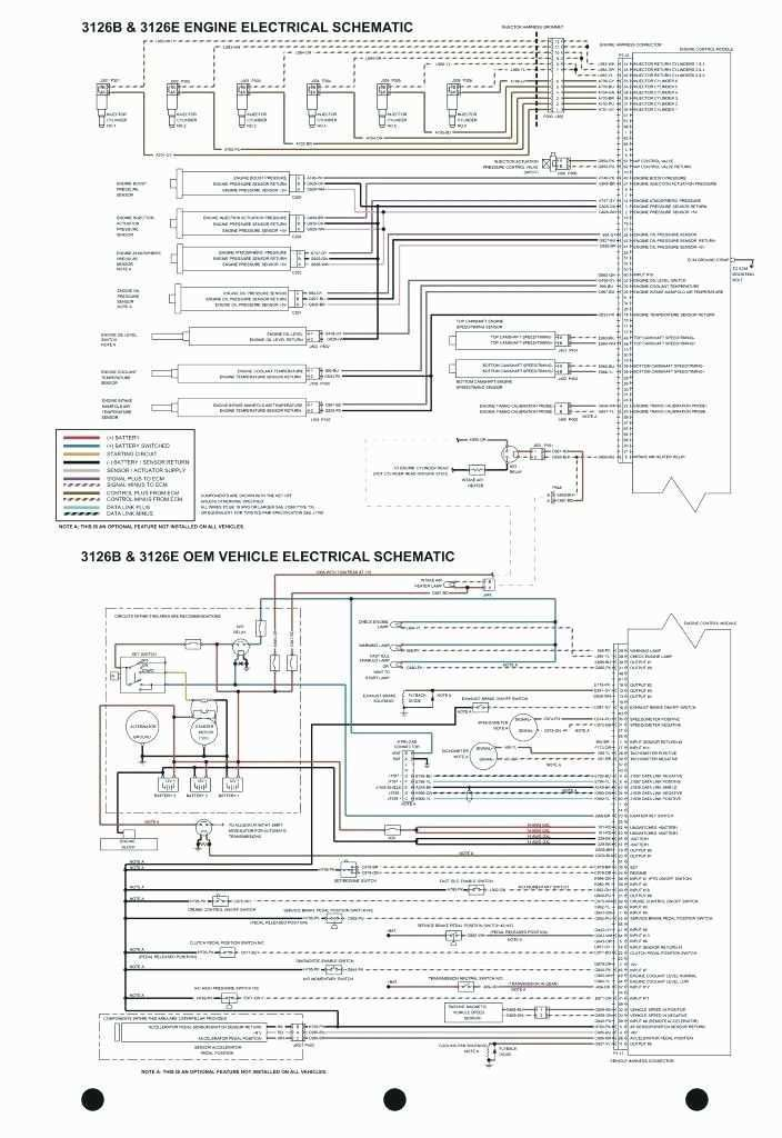 Caterpillar 3126 Alternator Wiring Diagram