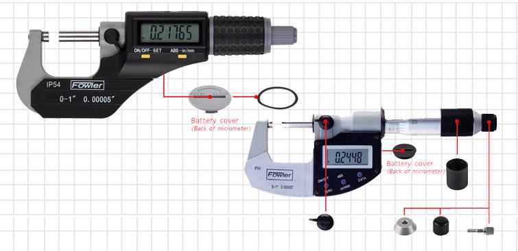Mitutoyo Caliper Repair Parts