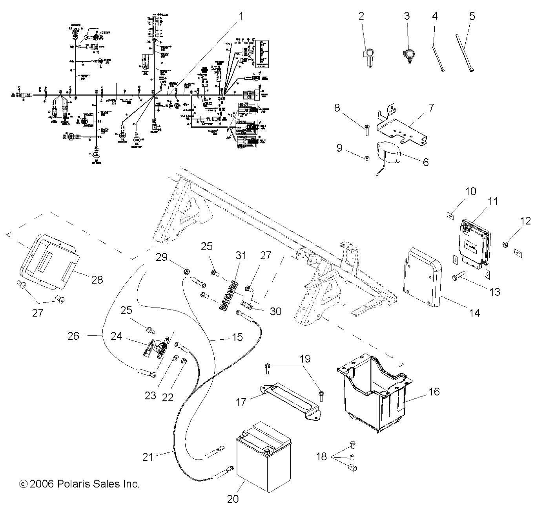 2008 Polaris Ranger 700 Wiring Diagram