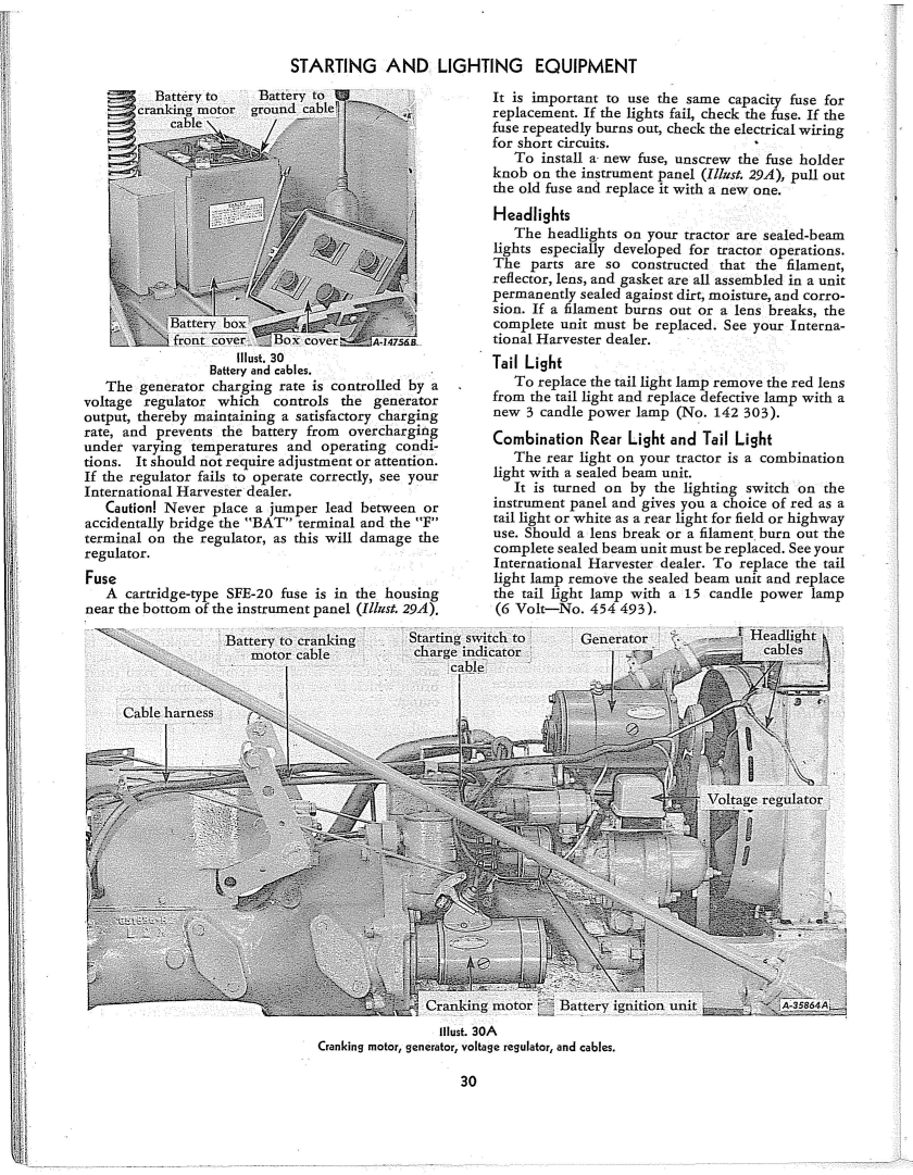 1950 Farmall Cub Wiring Diagram - Wiring Diagram