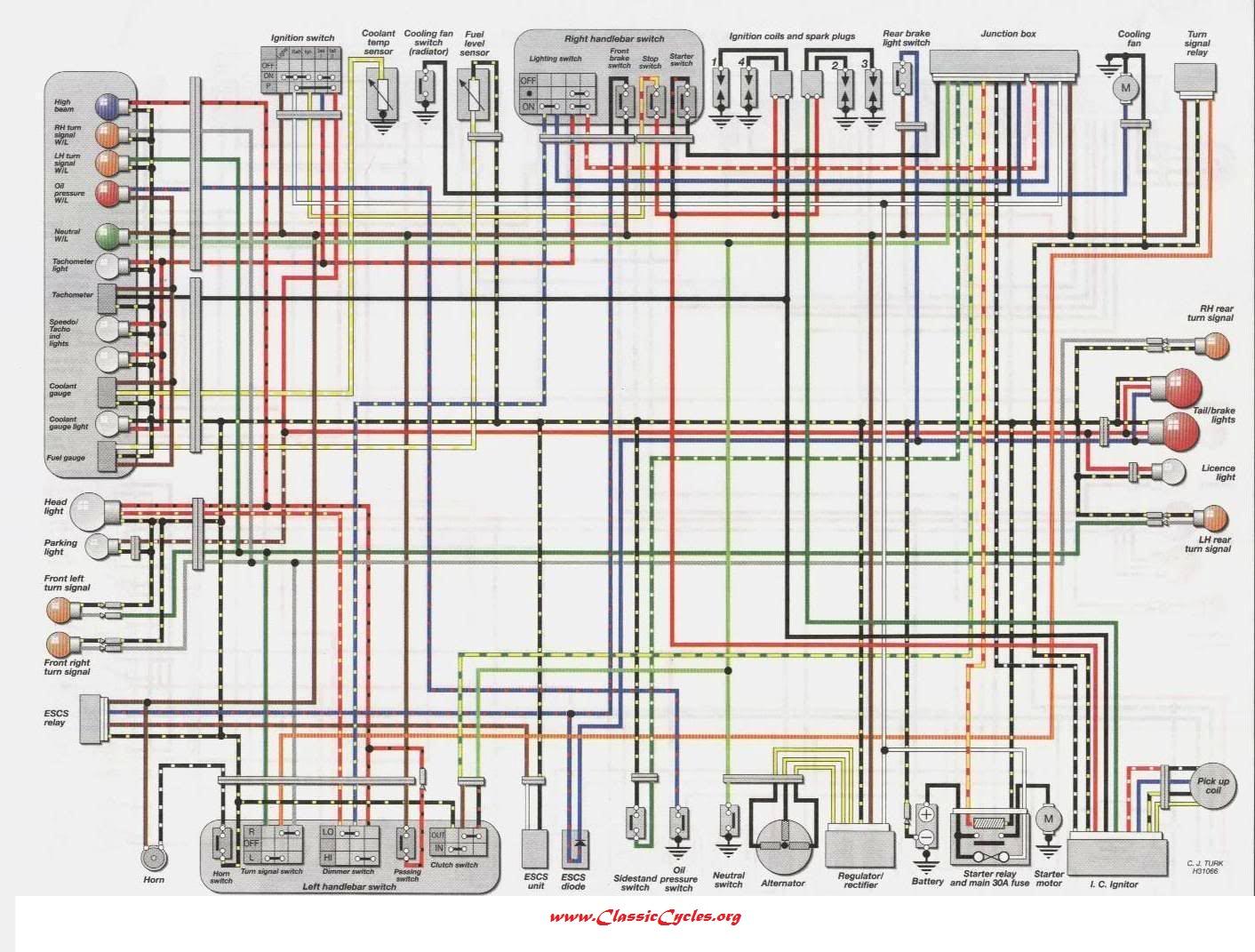 SS_0239] Kawasaki Zzr 600 Wiring Diagram Schematic Wiring