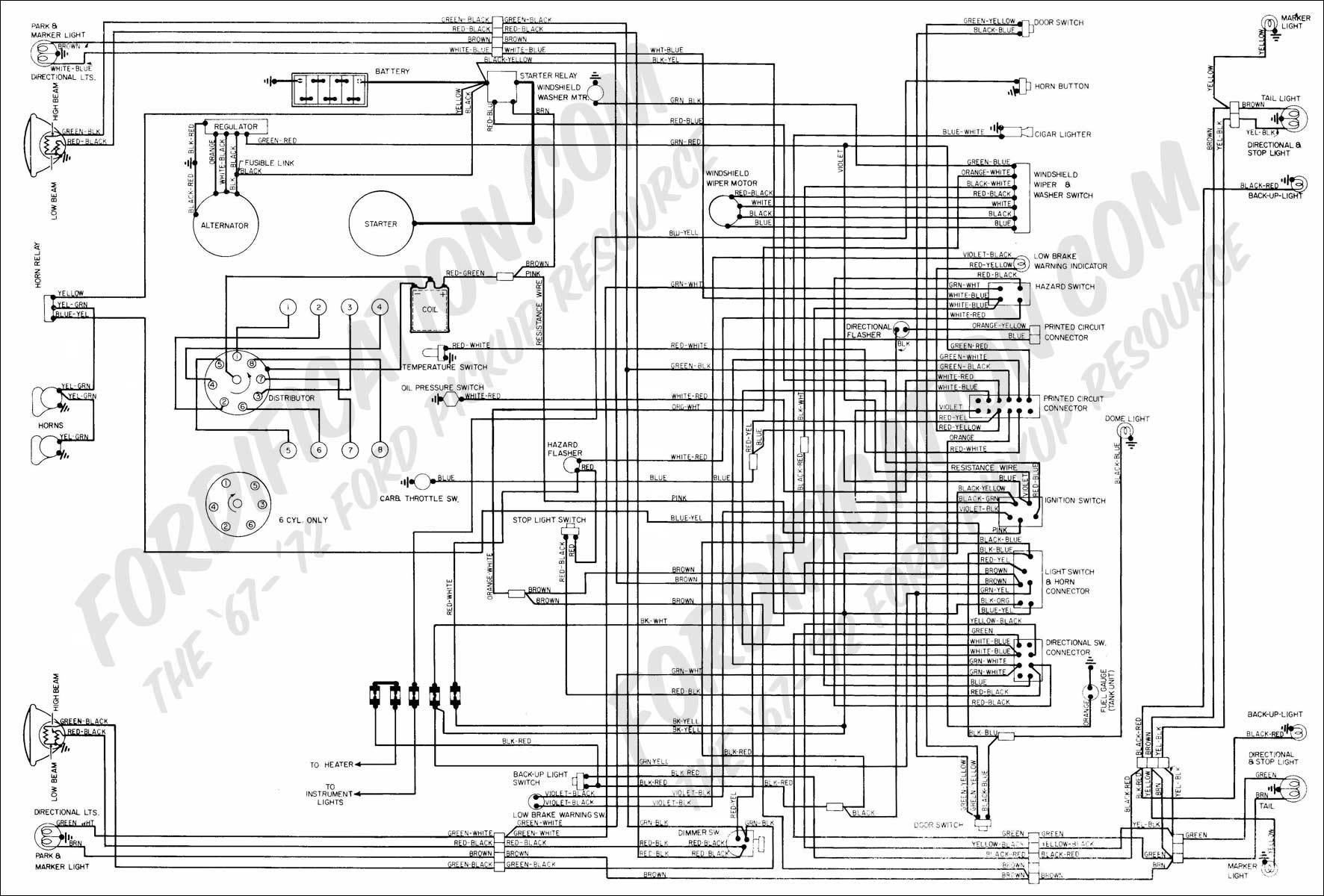 La 0793 1969 Ford F100 Voltage Gauge Wiring Diagram Schematic Wiring