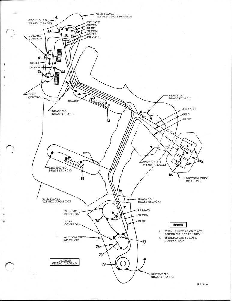 ef6724 fender jazzmaster wiring diagram fender jagstang