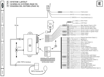 nm4487 honda accord remote start installation avital 4103