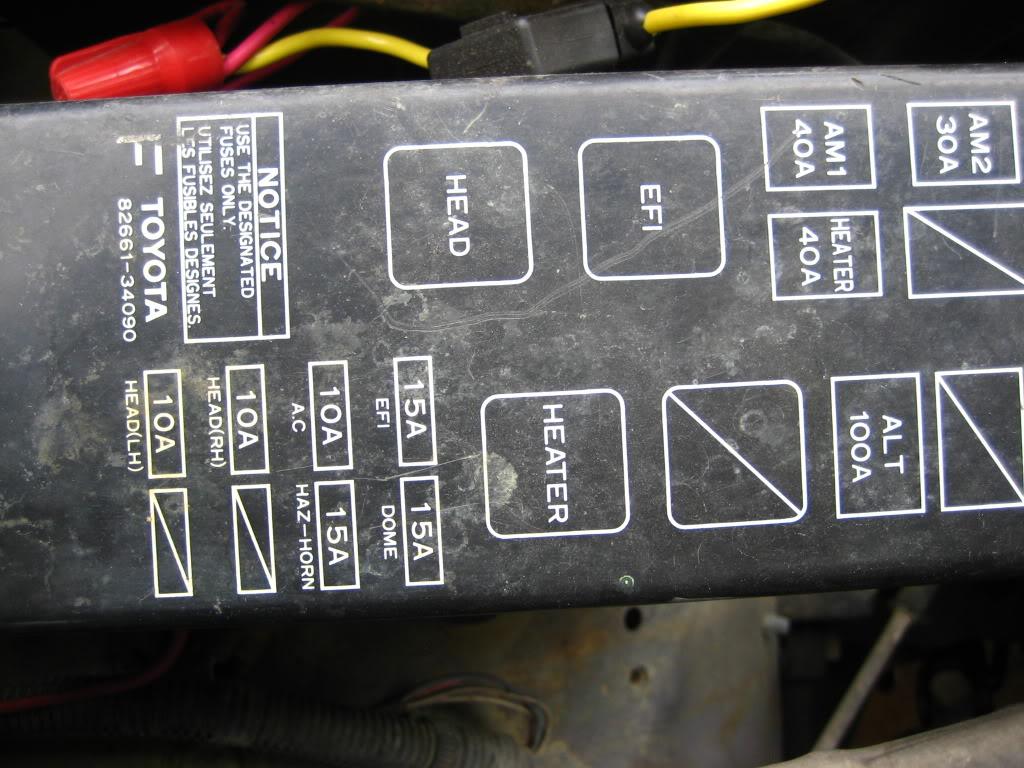 FX_7804] 1995 Toyota 4Runner Fuse DiagramSapre Cajos Mohammedshrine Librar Wiring 101